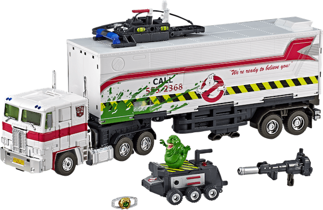 GHOSTBUSTERS™ AND TRANSFORMERS FIRST EVER OPTIMUS PRIME COLLABORATIVE FIGURE TO DEBUT ON NTWRK