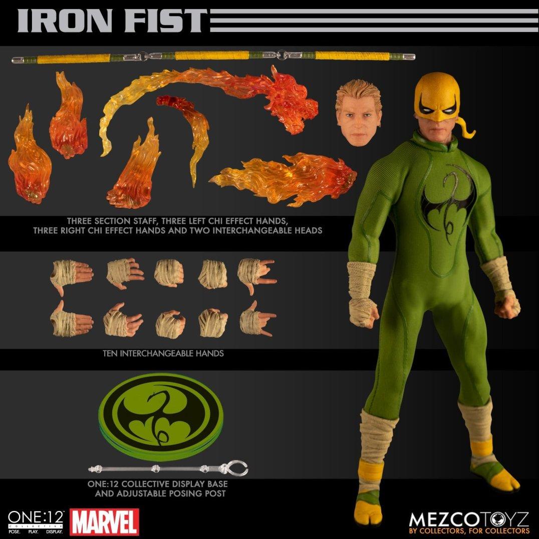 Mezco Iron Fist 04