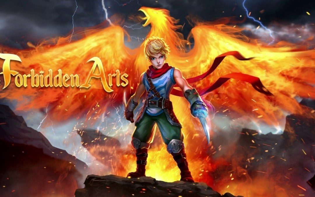 The Forbidden Arts Scorches Switch, XB1, Steam Today!