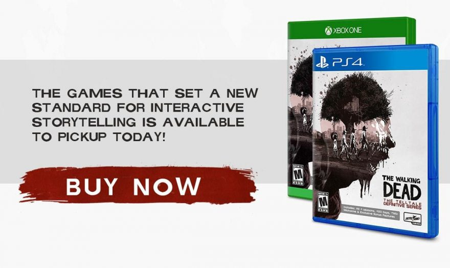 The Walking Dead: The Telltale Definitive Series Out Now!