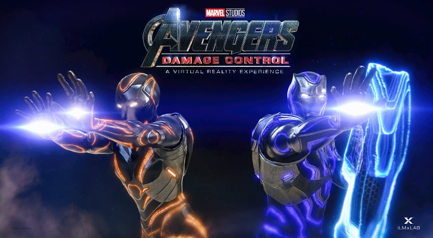 Watch the new trailer for Marvel's Damage Control VR Experience