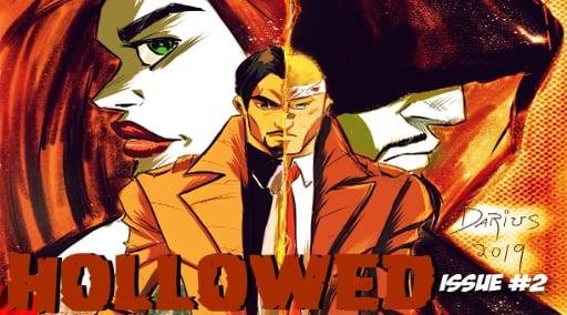 DFAT Comics presents Hollowed Issue 2 Kickstarter