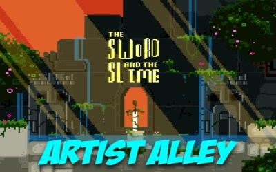 Artist Alley: Dennis McCorry, Creator of The Sword and the Slime
