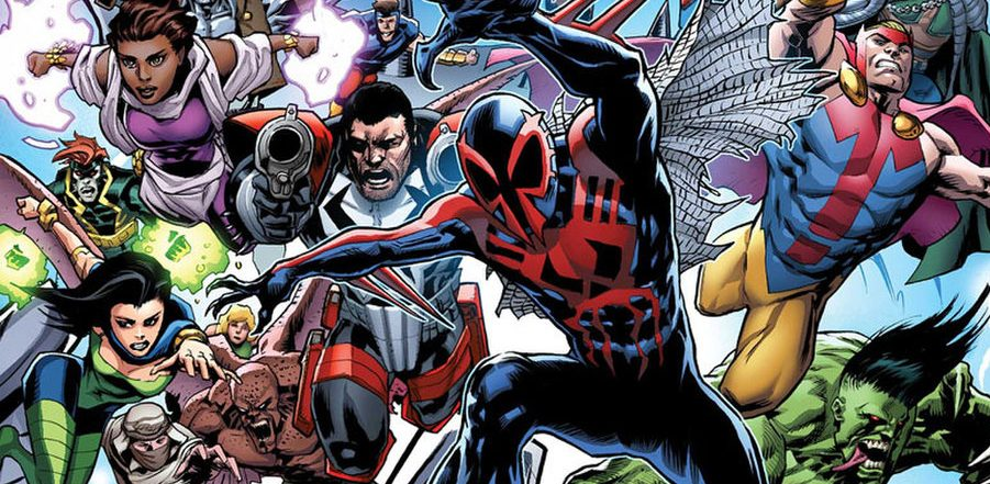 Return to Marvel's 2099 in this month's Amazing Spider-Man #33! Check out the trailer!!