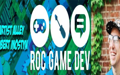 Artist Alley: Roc Game Developer Rob Mostyn