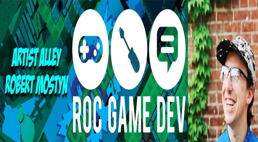 Artist Alley: Roc Game Developer Rob Mostyn