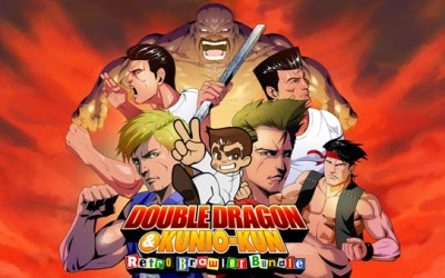 DOUBLE DRAGON & Kunio-kun Retro Brawler Bundle now available on Nintendo Switch™ & Playstation® 4!