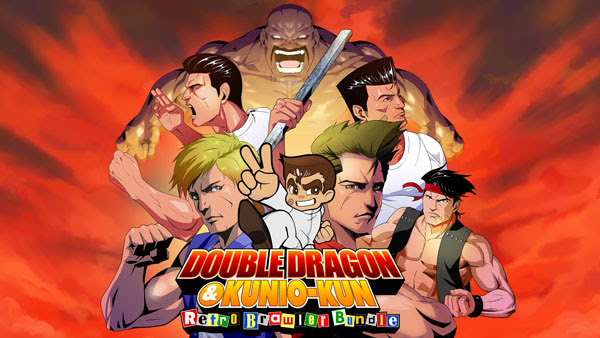 DOUBLE DRAGON & Kunio-kun Retro Brawler Bundle now available on Nintendo Switch™ & Playstation® 4!