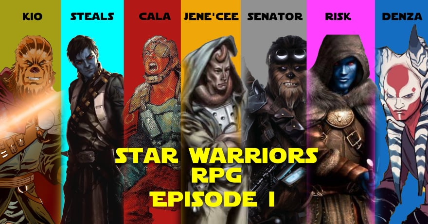 The Star Warriors Podcast Episode 6 – The Temple of Shi'ran Dah Pt. 1