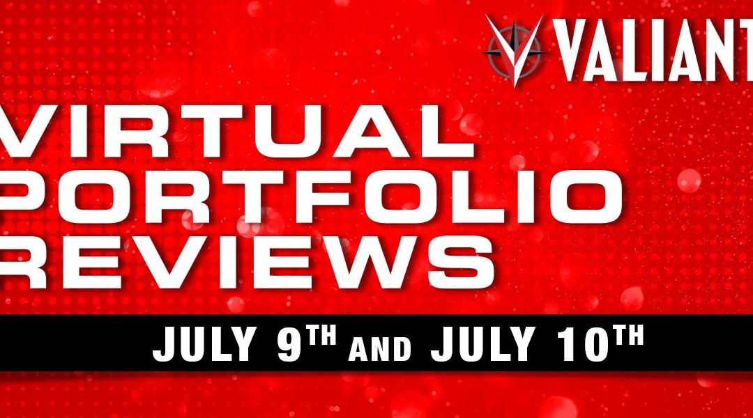 Hey Aspiring Creators! Introducing Valiant's Virtual Portfolio Reviews!!