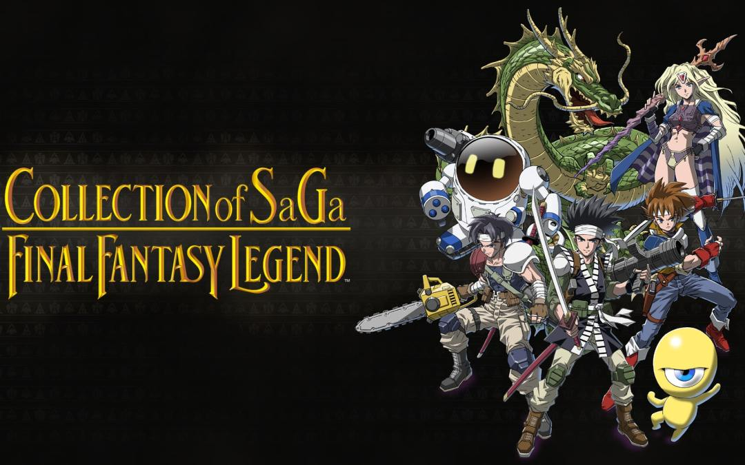 Collection of SaGa Final Fantasy Legend is coming to Switch this December!