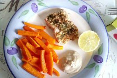 Healthier fish n chips! Dinner Lunch Uncategorized