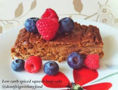Grain free spiced squash loaf-cake Breakfast Desserts Lunch snack