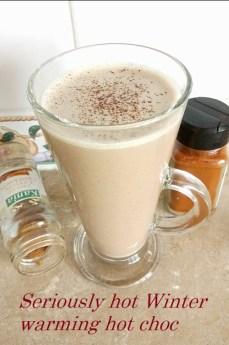 Seriously hot Winter warming hot chocolate Desserts Grainfree snack vegan