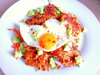 savoury sweet potato rostis Breakfast Dinner Lunch