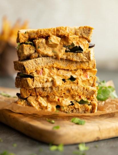 Chicken Tikka Sandwich Filler   Don't Go Bacon My Heart