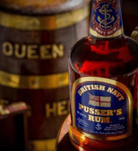 Pusser's Rum Black Tot Day