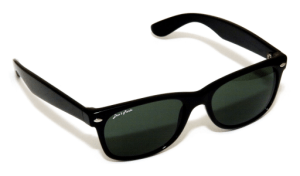 Pair of Sun Glasses is the DP logo