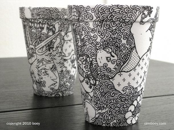 7(1) Sirva me café com um pouco de arte!