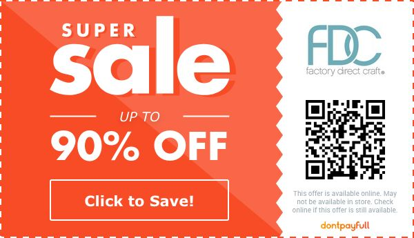 76 off factory direct craft coupons