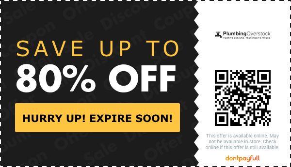 plumbing overstock coupon promo code