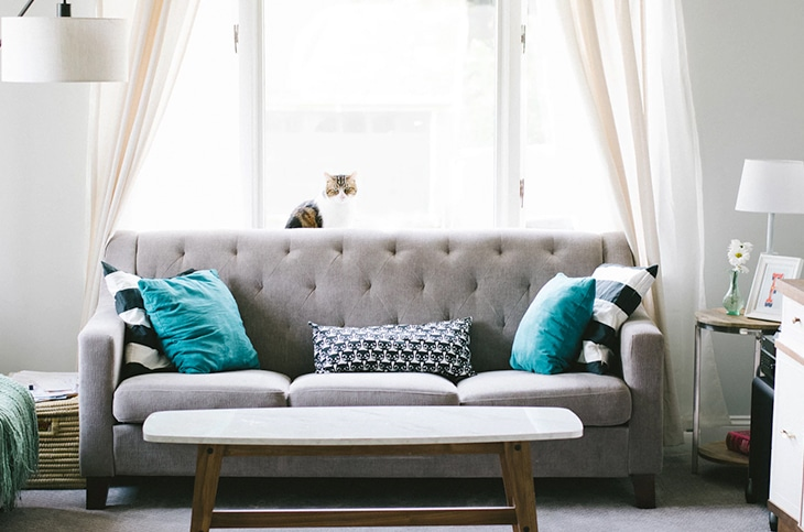 brilliant ideas for decorating your living room gray leather sectional apartment on a budget