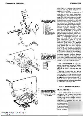 John deere 2040 thru 4840 tractor workshop manual