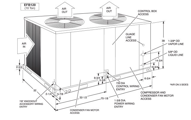 York Condensing Unit Diagram Pictures to Pin on Pinterest