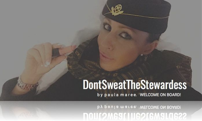 DON'T SWEAT THE STEWARDESS | A FLIGHT ATTENDANT BLOG | WELCOME ONBOARD