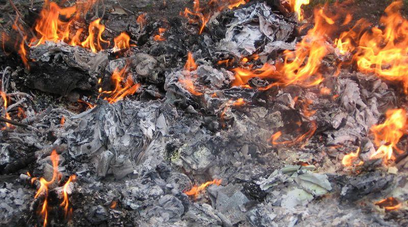 Hatalmas mennyiségben kerülnek rákkeltő anyagok a levegőbe a háztartási hulladék égetésével