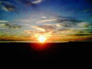 Sunset in Newport Beach, CA