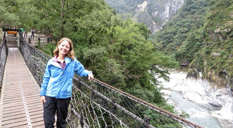 Taroko Gorge and National Park.
