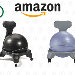 Ball Chair Amazon Revolving Video Balance On Sale Today Only From