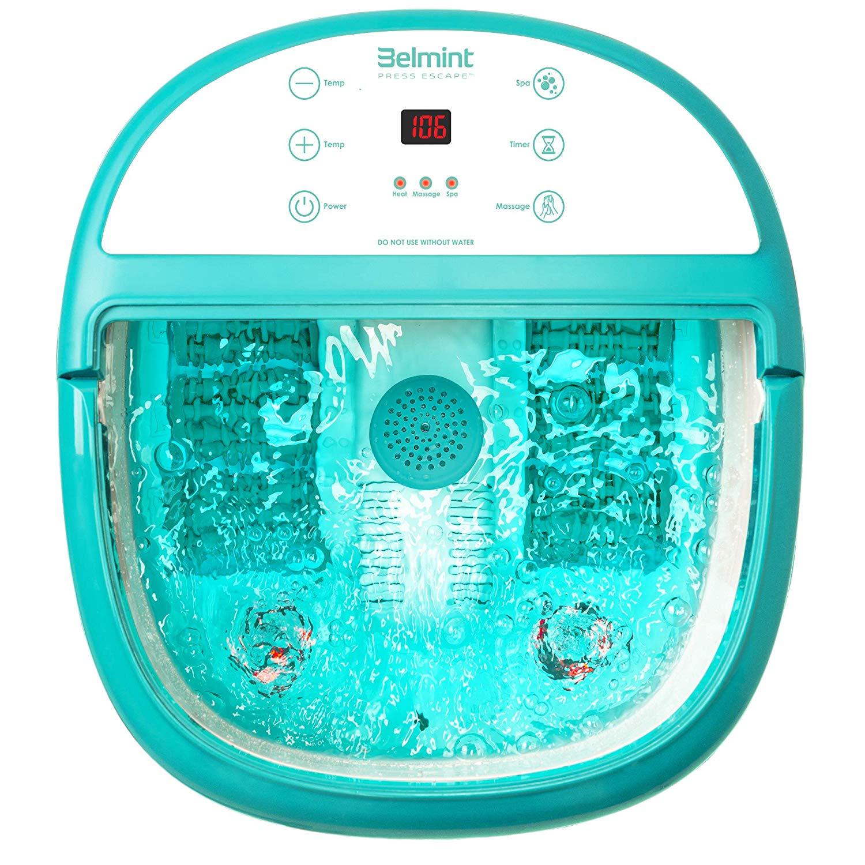 Belmint Foot Spa Bath Massager with Heat – Foot Massage ...