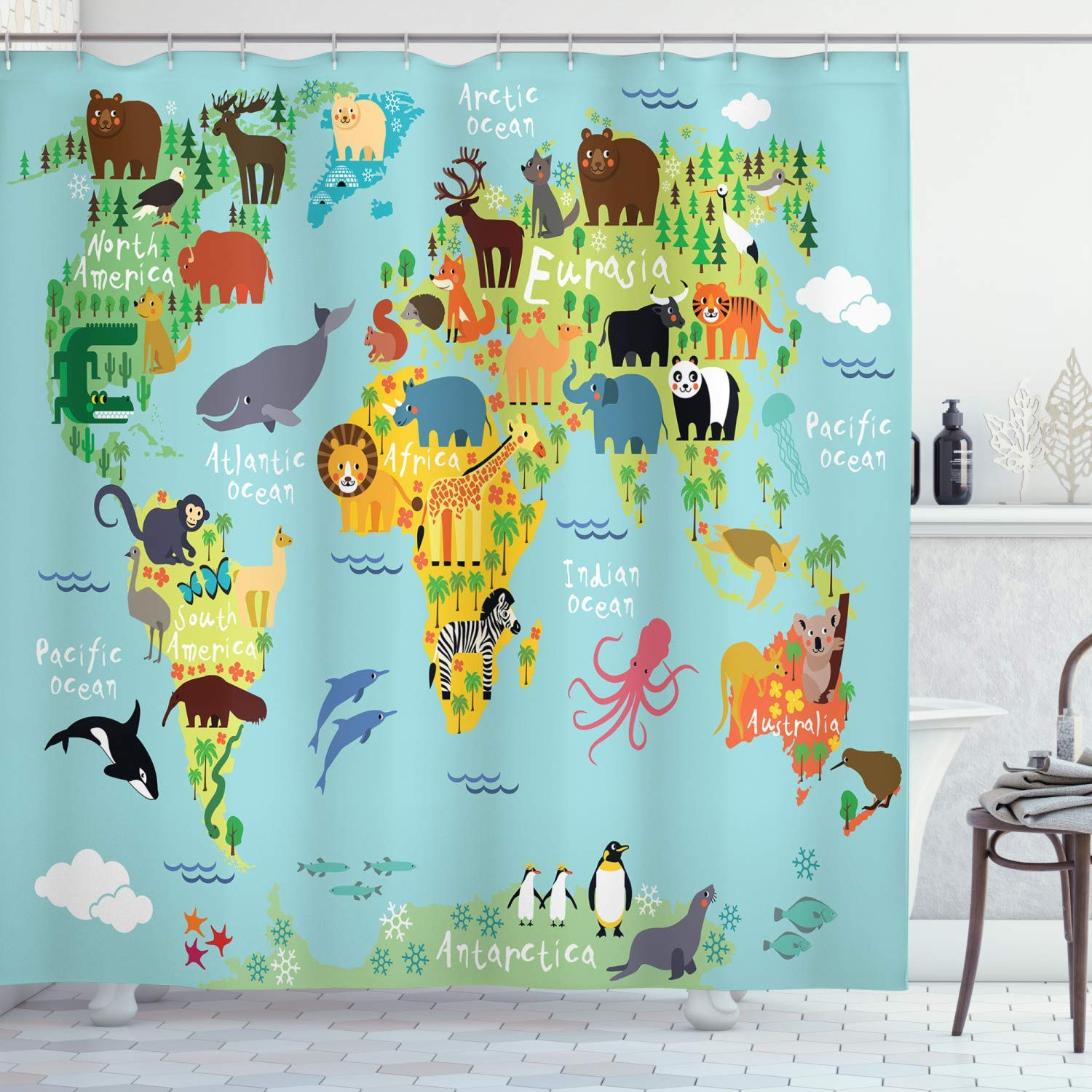 the best kids shower curtain may 2021