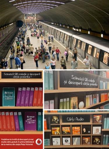 Subway eBook / QR Code Campaign