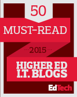Must-read Higher Ed IT Blog