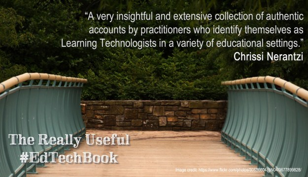 """""""A very insightful and extensive collection of authentic accounts by practitioners who identify themselves as Learning Technologists in a variety of educational settings."""" Chrissi Nerantzi"""