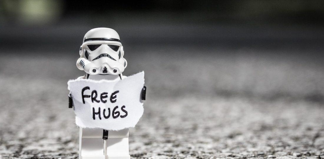 Lego hug