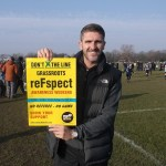 Ryan Lowe, Supporting the DXTL respect awareness weekend at grassroots March 2016
