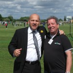Mal with John Hudson, (PFA) great support for the 2016 reFspect awareness weekend