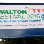 Good Luck To All At the Walton Festival This Weekend. WELCOME BACK