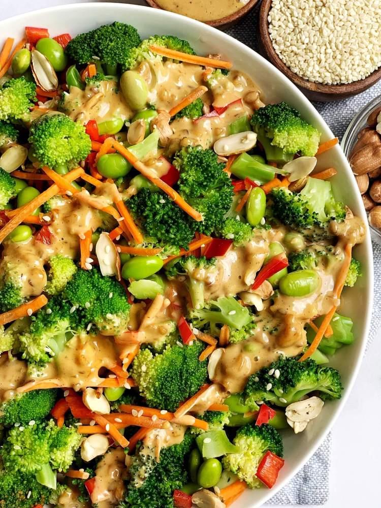 Asian broccoli salad recipe