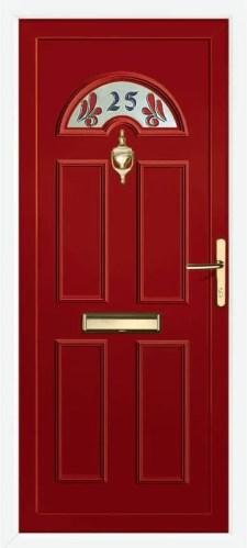 Lom Hs Number Red