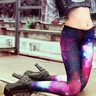 Legging galaxy swag