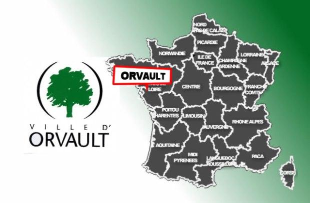 illustration pour Orvault, 1ere borne en Loire-Atlantique