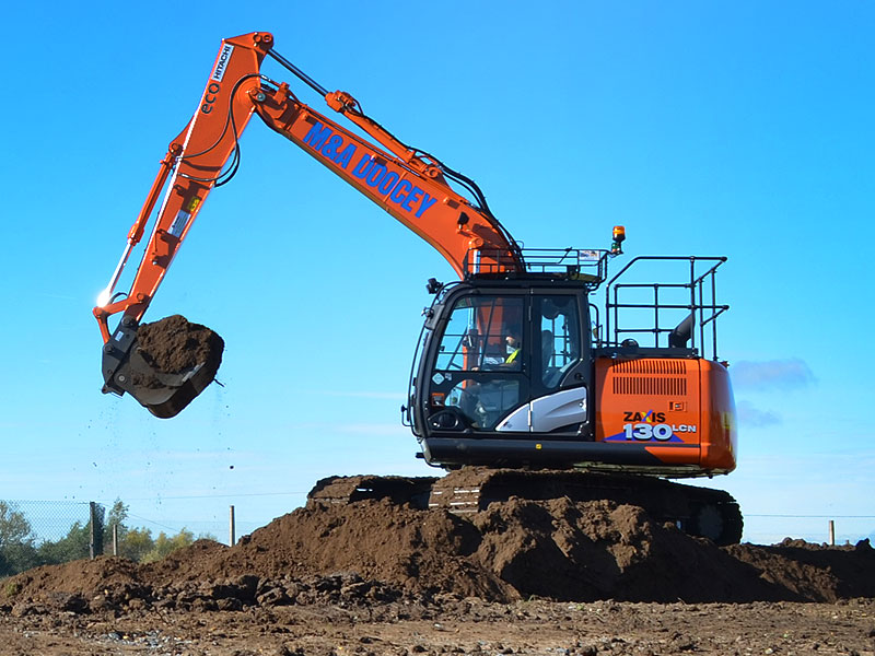 doocey, digger, ground, works