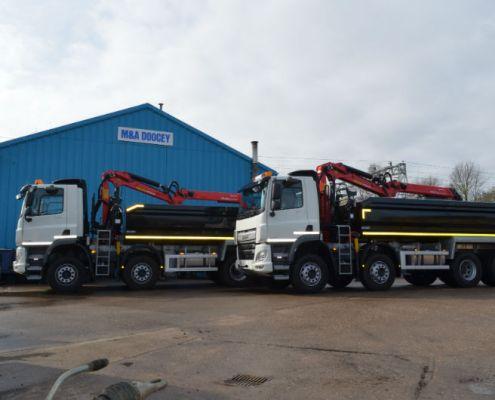 Doocey Grab Lorry, 8 Wheeler Grab Lorry,