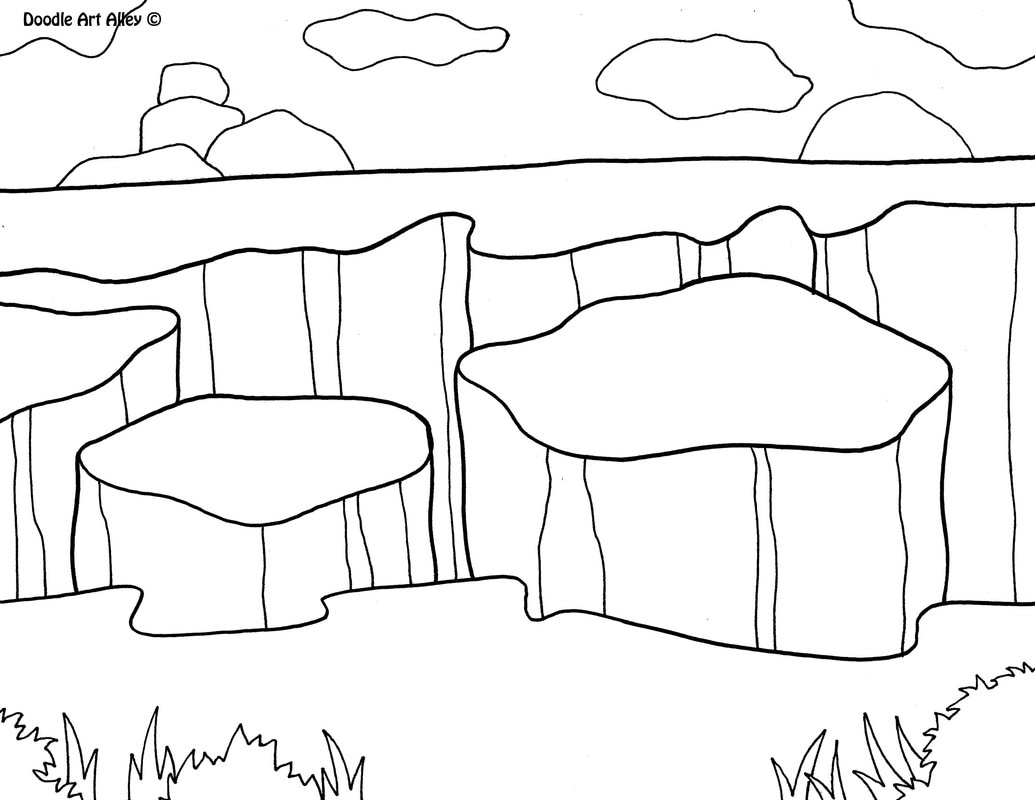 National Parks Coloring Pages