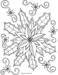 Winter Coloring pages - Doodle Art Alley